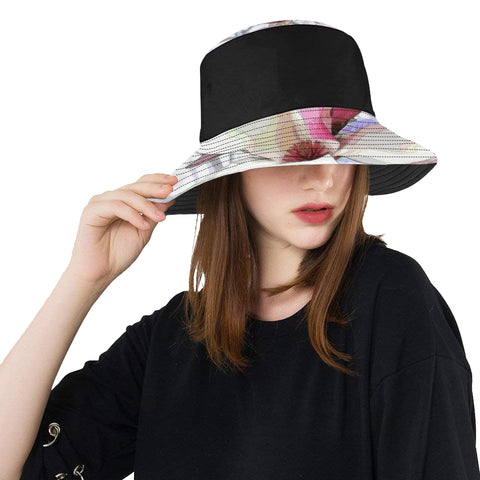WOMEN'S BUCKET HAT 05 - IN THE GARDEN