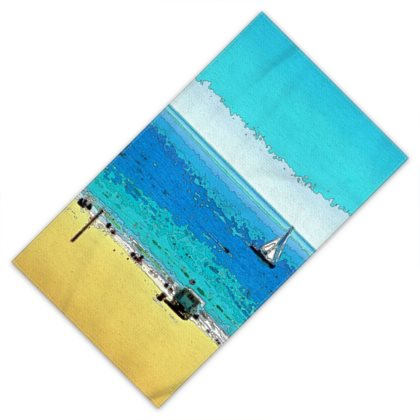 BEACH TOWEL / ADULT 01- AT THE BEACH