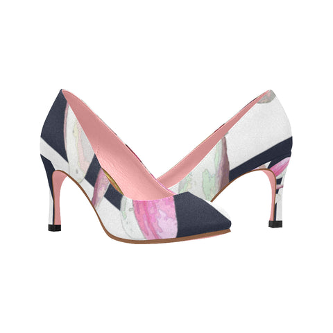 WOMEN'S HIGH HEEL PUMP 02 - IN THE GARDEN