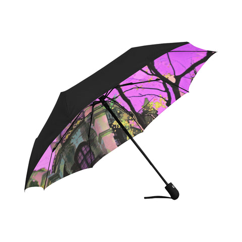 UMBRELLA (FOLDING / UV PROTECTION) 07 - AROUND LA / MISSION INN