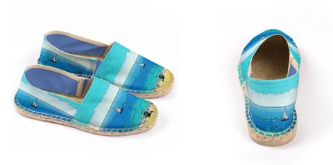 WOMEN'S ESPADRILLES 01 - AT THE BEACH