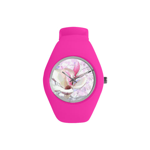 WOMEN'S WATCH (FUSHIA) 02 - IN THE GARDEN