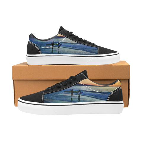 MEN'S CANVAS LACE UPS 01 - CALIFORNIA DREAMING / SUNSET SURFERS