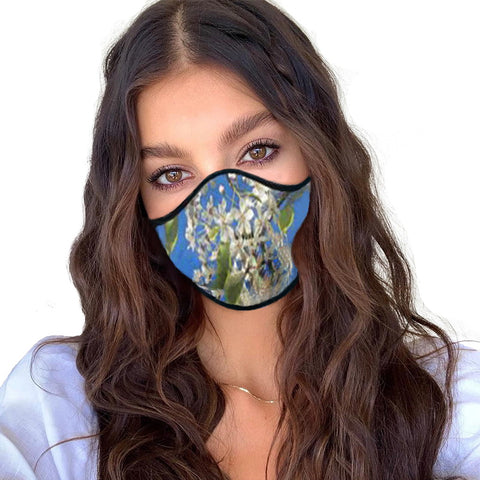WOMEN'S FACE MASK 01 B - IN THE GARDEN (SET OF 4)