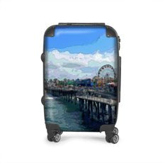 LUGGAGE 001 - AROUND LA / SANTA MONICA PIER