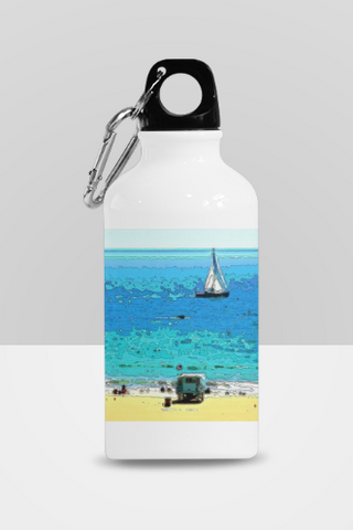 SPORTS BOTTLE 01 - AT THE BEACH