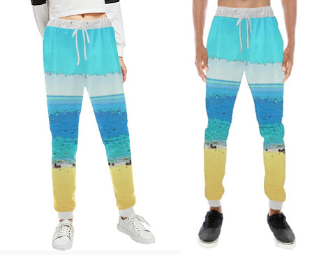 UNISEX SWEAT PANTS 01 - AT THE BEACH