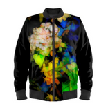 WOMEN'S BOMBER JACKET 07 - IN THE GARDEN