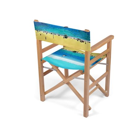 Amazing Deck Directors Chair Folding Wood Frame 01 At The Beach Gamerscity Chair Design For Home Gamerscityorg