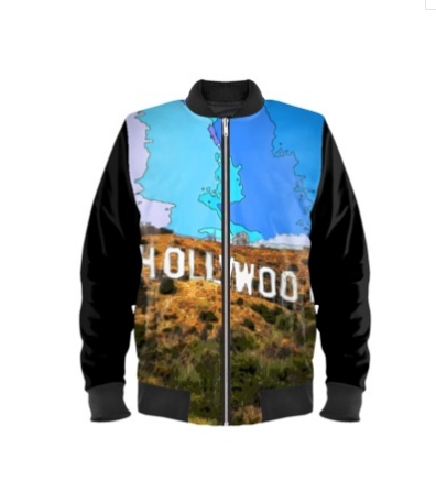 MEN'S BOMBER JACKET 01 A - AROUND LA