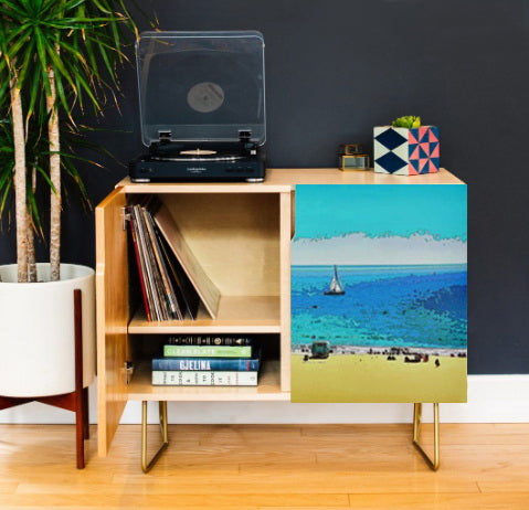CREDENZA 01 - AT THE BEACH