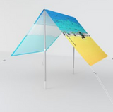 Designer umbrella sun shade