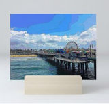 MINI ART PRINT 01 - AROUND LA / SANTA MONICA PIER