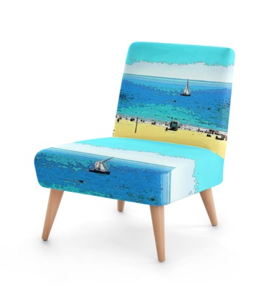OCCASIONAL CHAIR 01 - AT THE BEACH