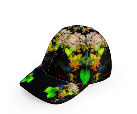 WOMEN'S BASEBALL CAP 01 - IN THE GARDEN