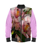 WOMEN'S BOMBER JACKET 05 - IN THE GARDEN