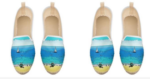 WOMEN'S ESPADRILLES 02 - AT THE BEACH