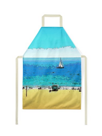 KID'S APRON 01 - AT THE BEACH
