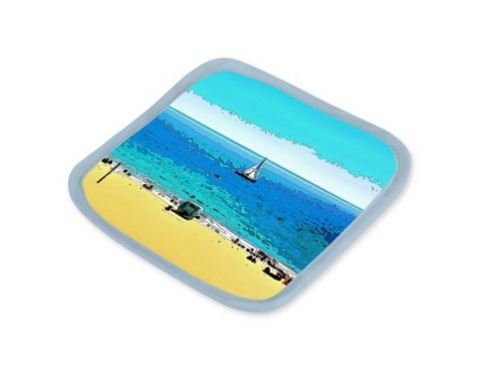POT HOLDERS (Set of 2) 01 - AT THE BEACH