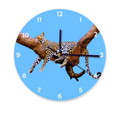 WALL CLOCK / ROUND 03 - IN THE JUNGLE