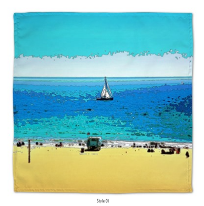 DINNER NAPKINS 01 - AT THE BEACH
