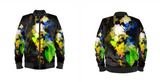 MEN'S BOMBER JACKET 07 - IN THE GARDEN