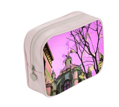 WOMEN'S MAKEUP BAG 01 - AROUND LA / MISSION INN