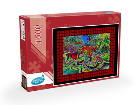 PUZZLE ENCHANTED DRAGON 03 - ASIAN JOURNEY COLLECTION