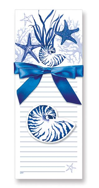 MAGNETIC PAD GIFT SET - INDIGO SHELLS