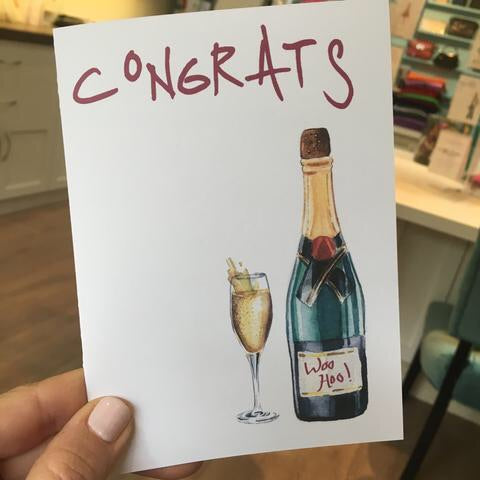 Greeting Card, congratulations