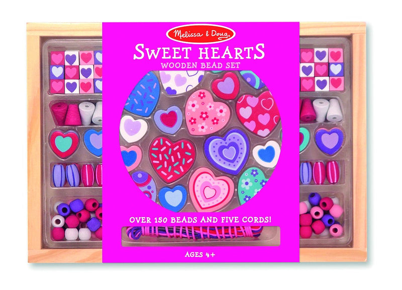 Bead sweet heart set