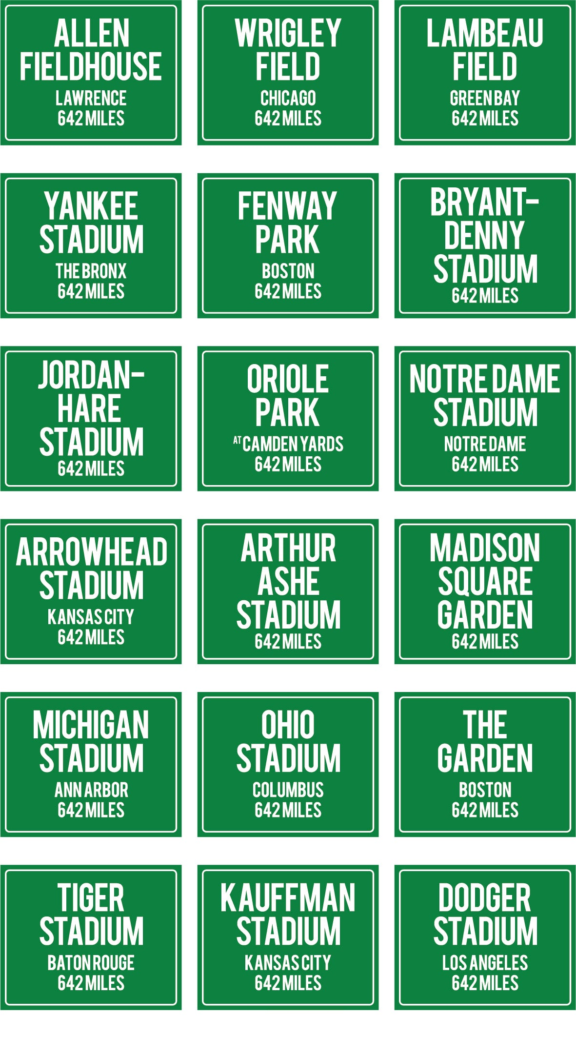 Personalized Metal or Canvas Highway Signs