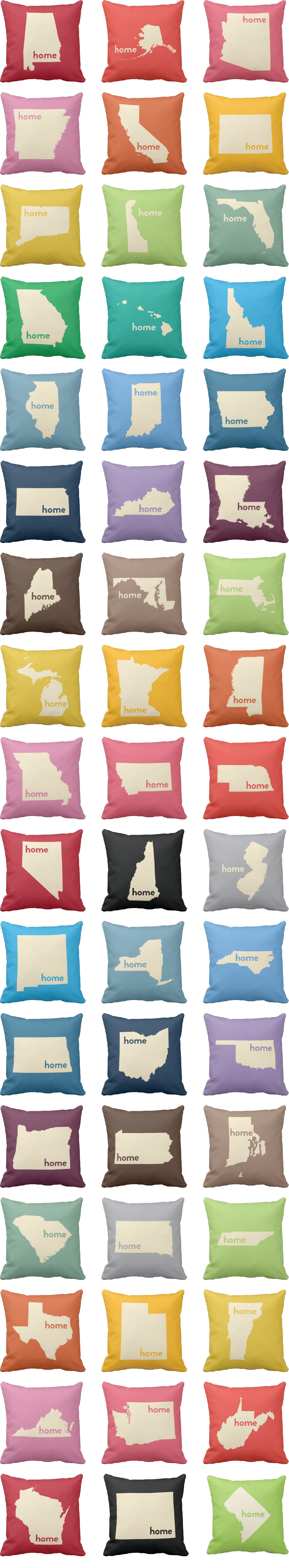 Home State Pillows