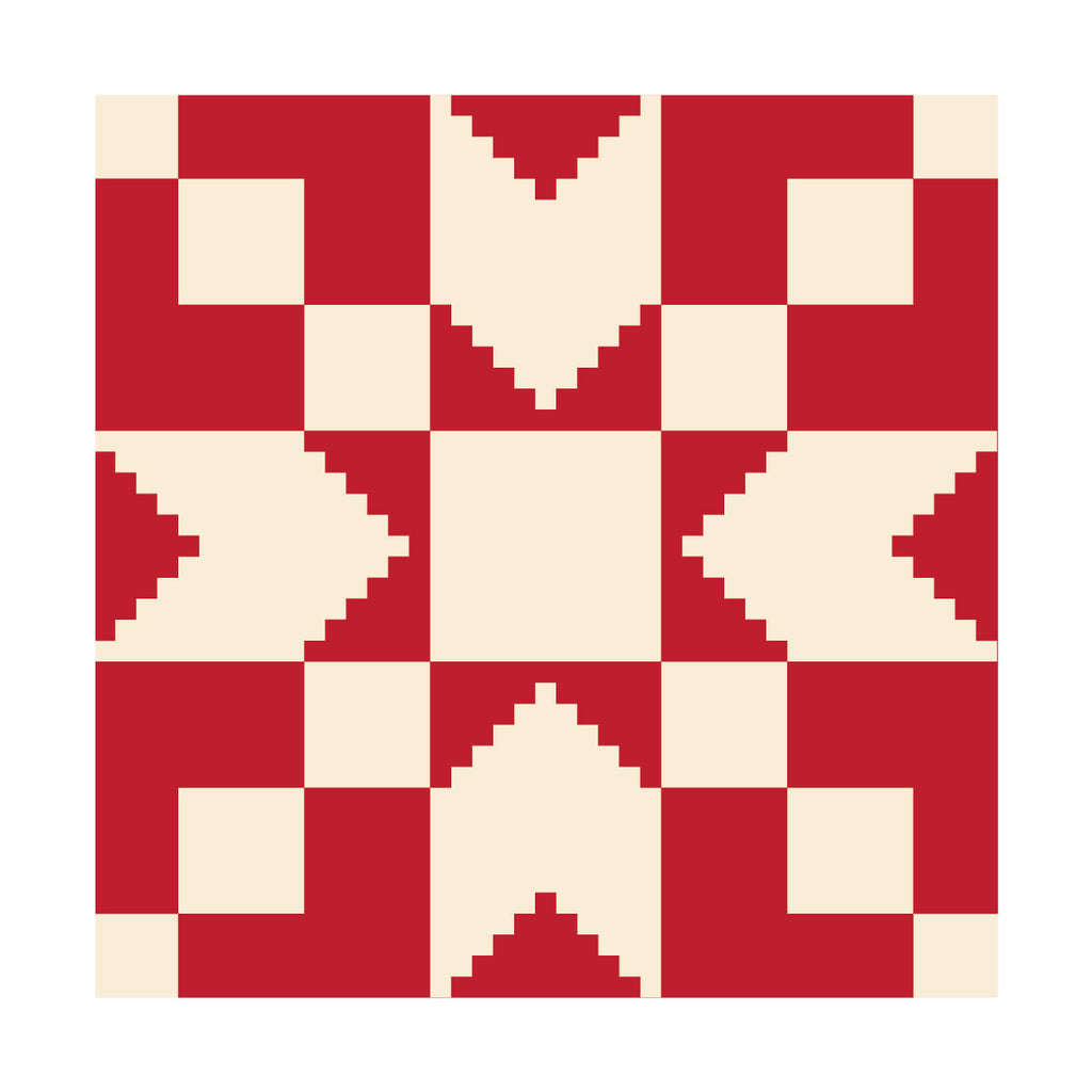 Stepping Stone Barn Quilt