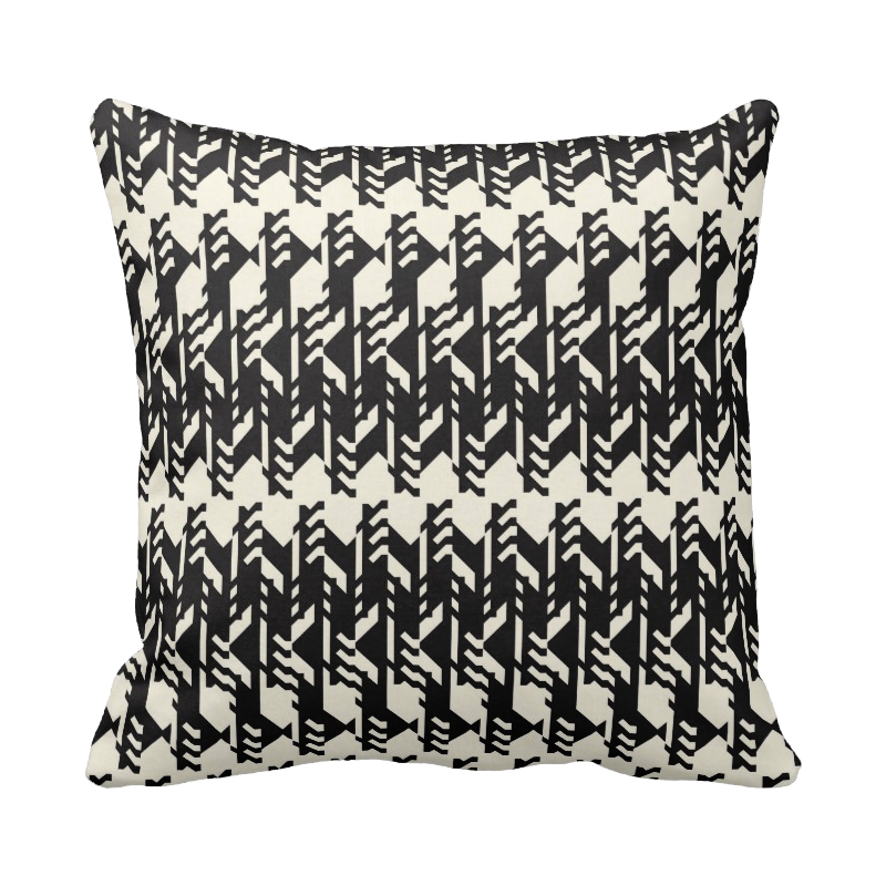 20 inch Pattern pillow in custom colors for indoor/outdoor use