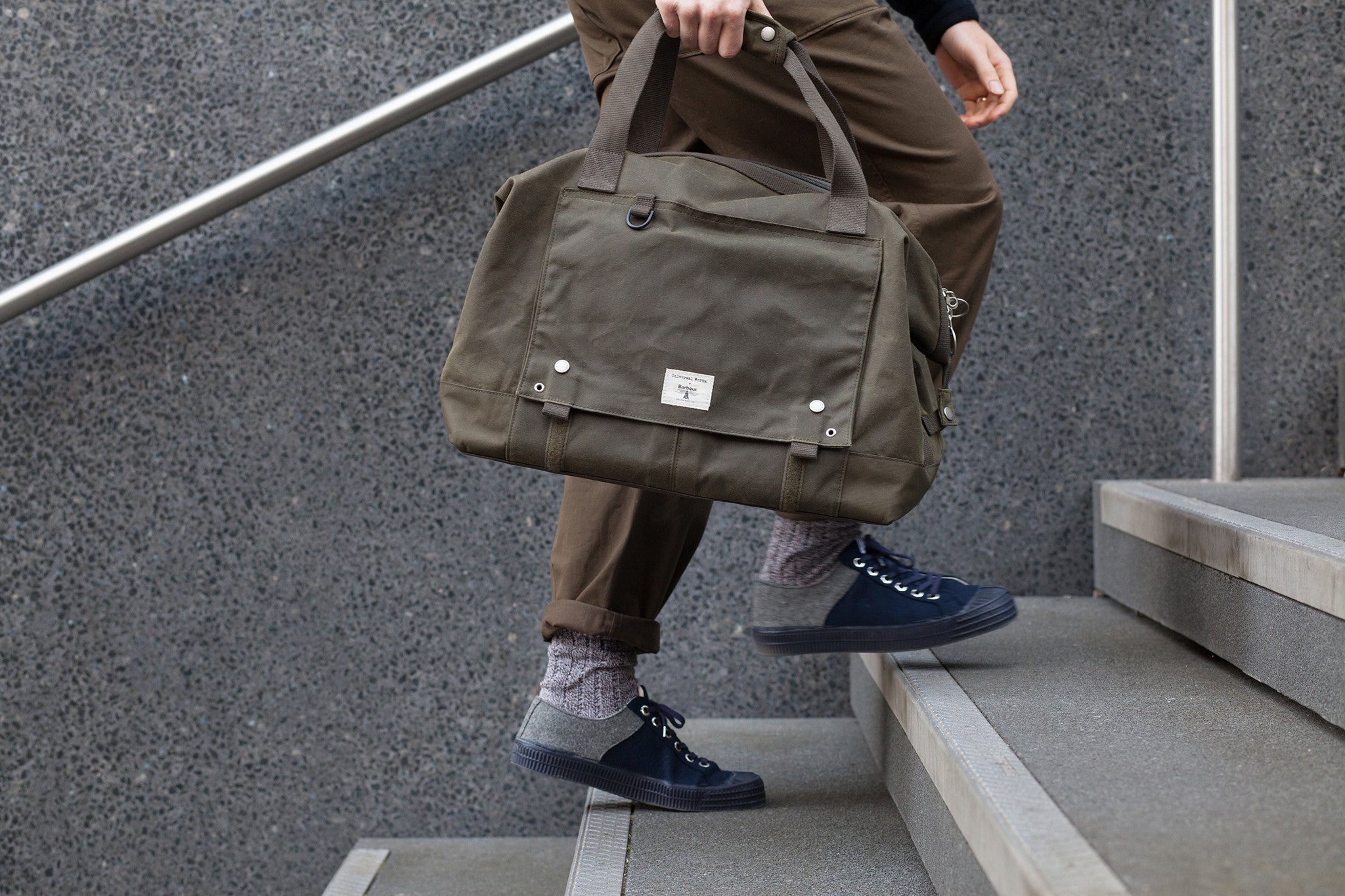 5c980d3522 Universal Works X Barbour - Bags