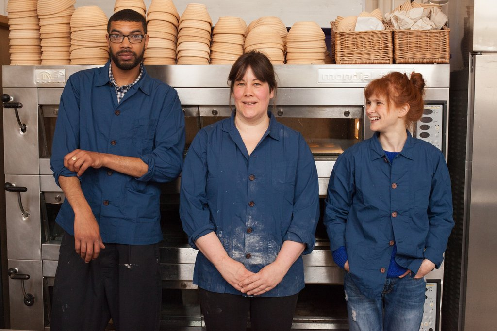 The Primary Bakery , Bakers in Bakers overshirts