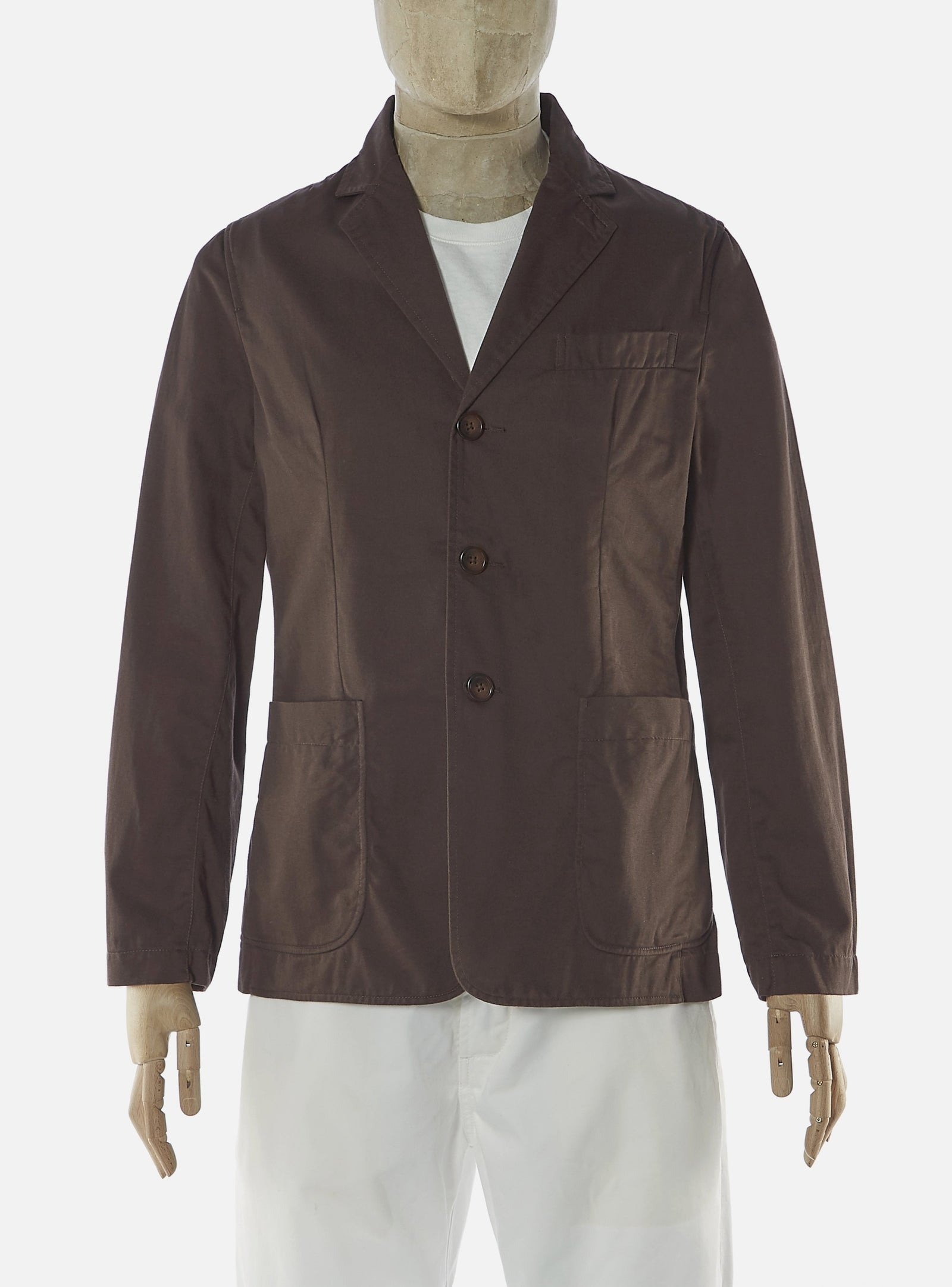Universal Works London Jacket in Chocolate Twill