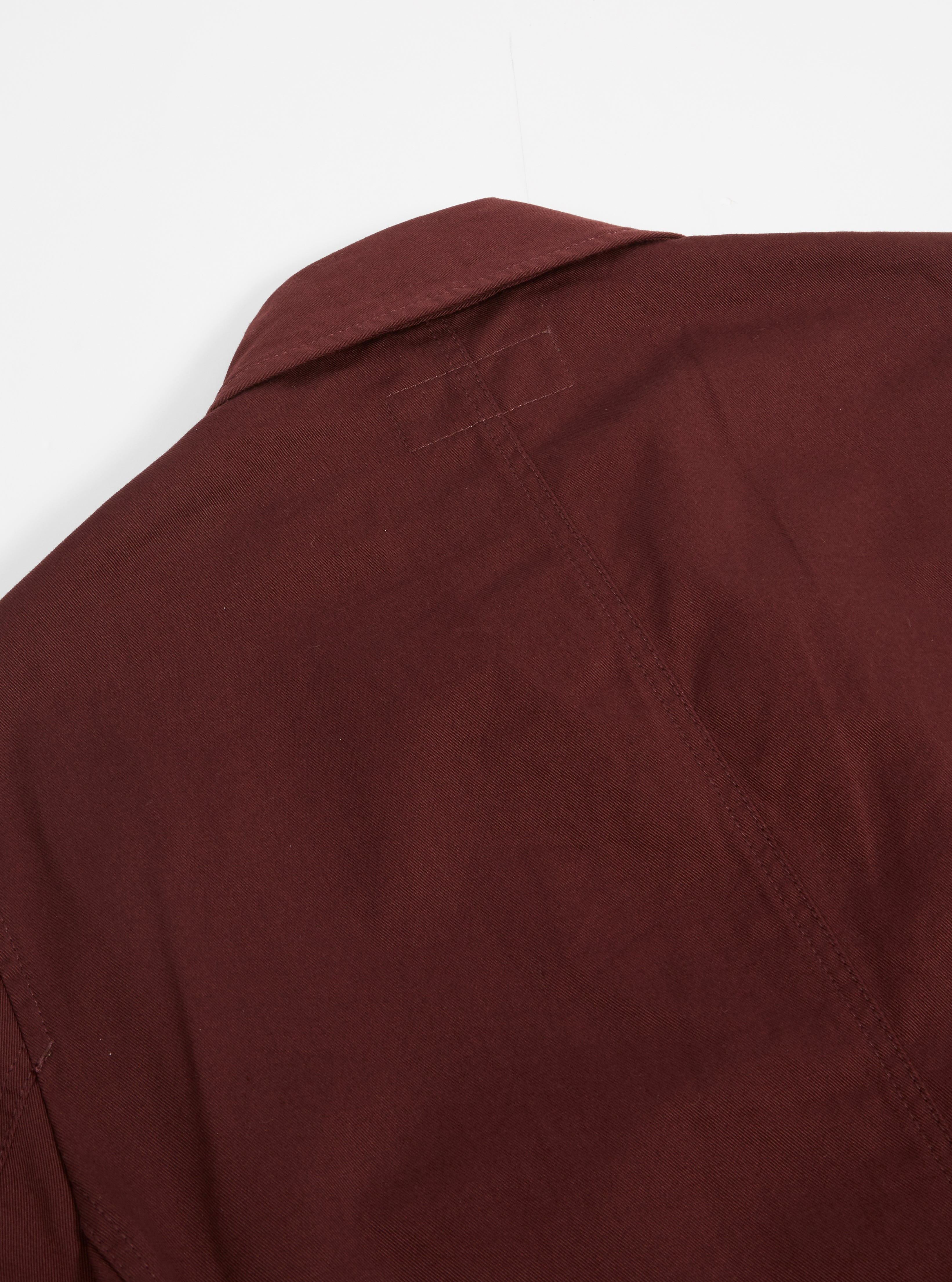 Universal Works Bakers Jacket in Raisin Twill