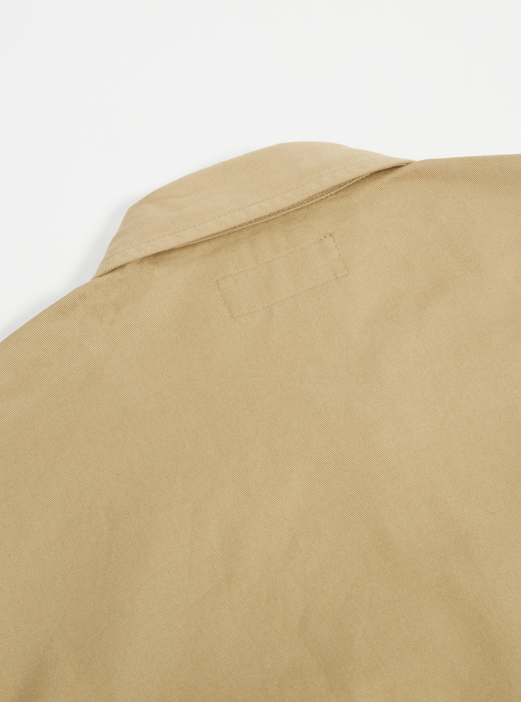 Universal Works Zip Uniform Jacket in Sand Twill