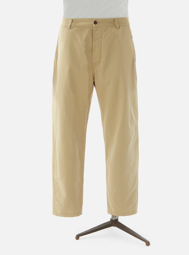 Universal Works Military Chino in Tan Twill