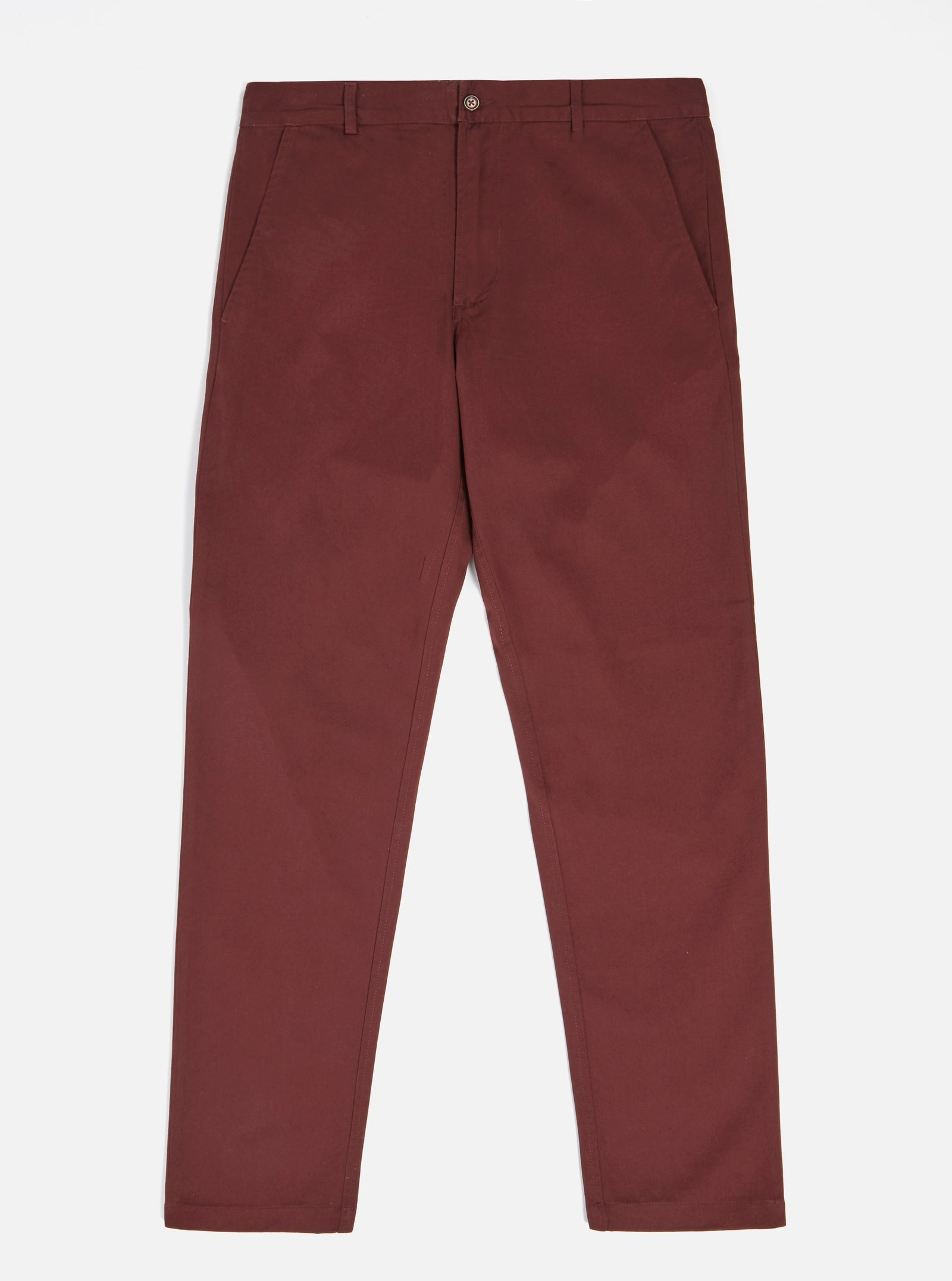 Universal Works Aston Pant in Raisin Twill