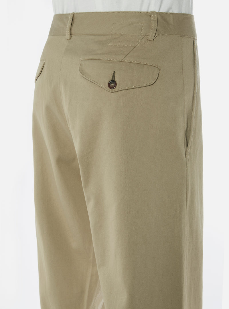 Universal Works Aston Pant in Sand Twill
