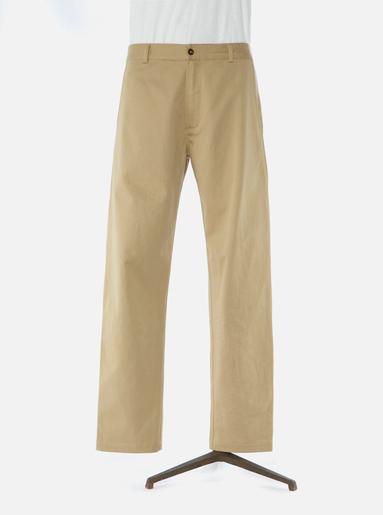 Universal Works Aston Pant in Tan Twill