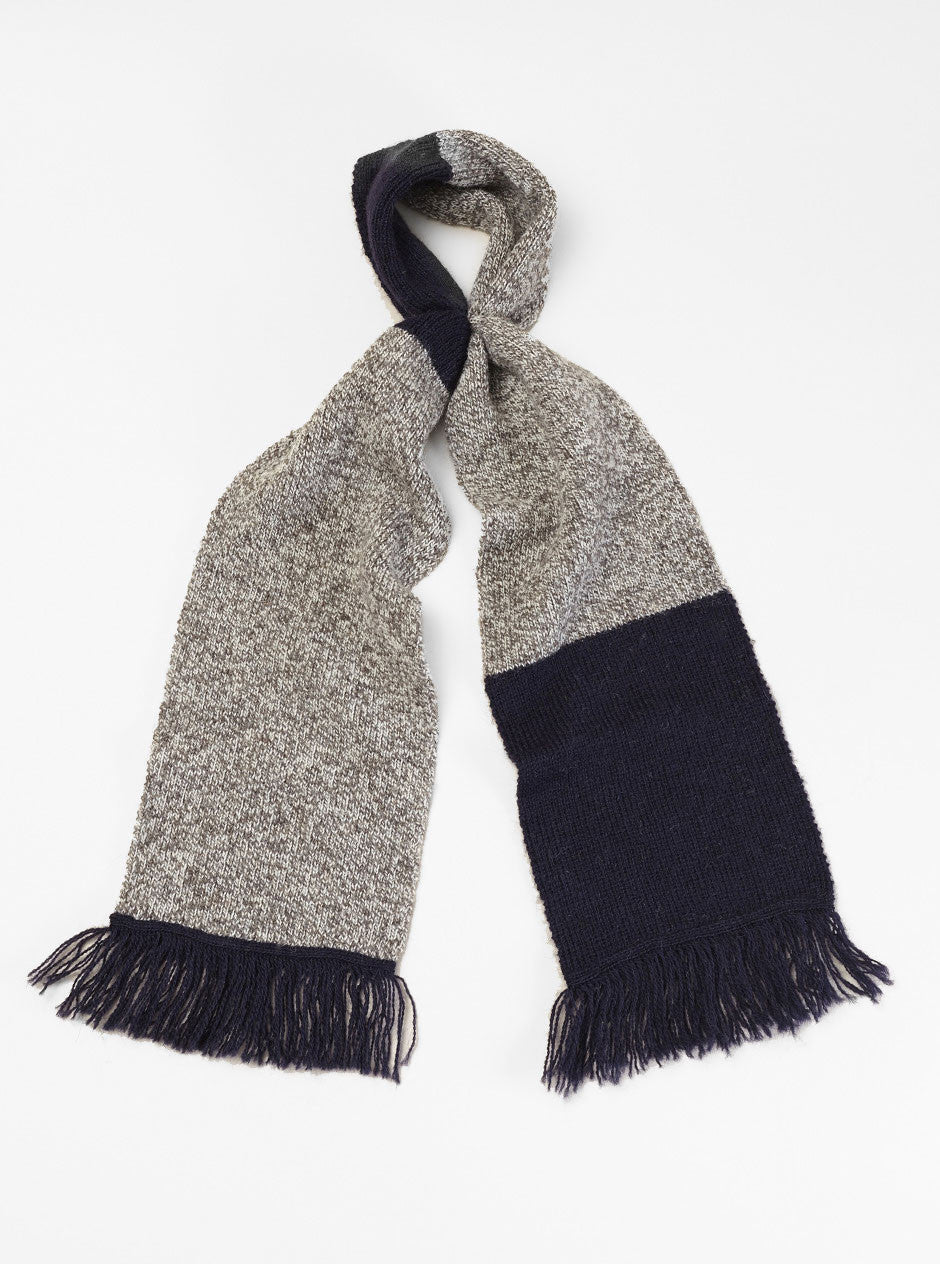 Universal Works x Ace Hotel Scarf in Grey British Wool