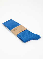 Base Sock in Royal Blue Merino