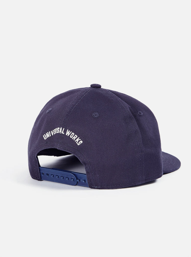 New Era Cap in Navy Cotton Twill