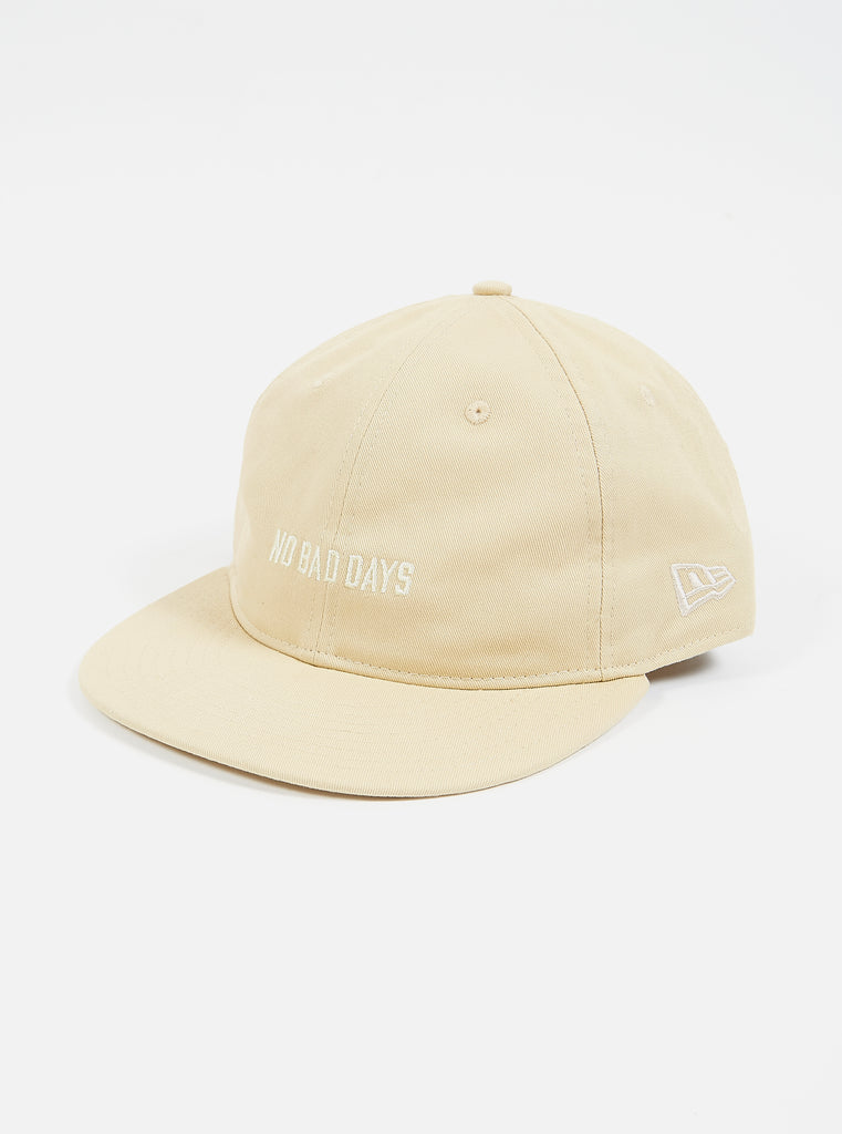 New Era Cap in Sand Cotton Twill