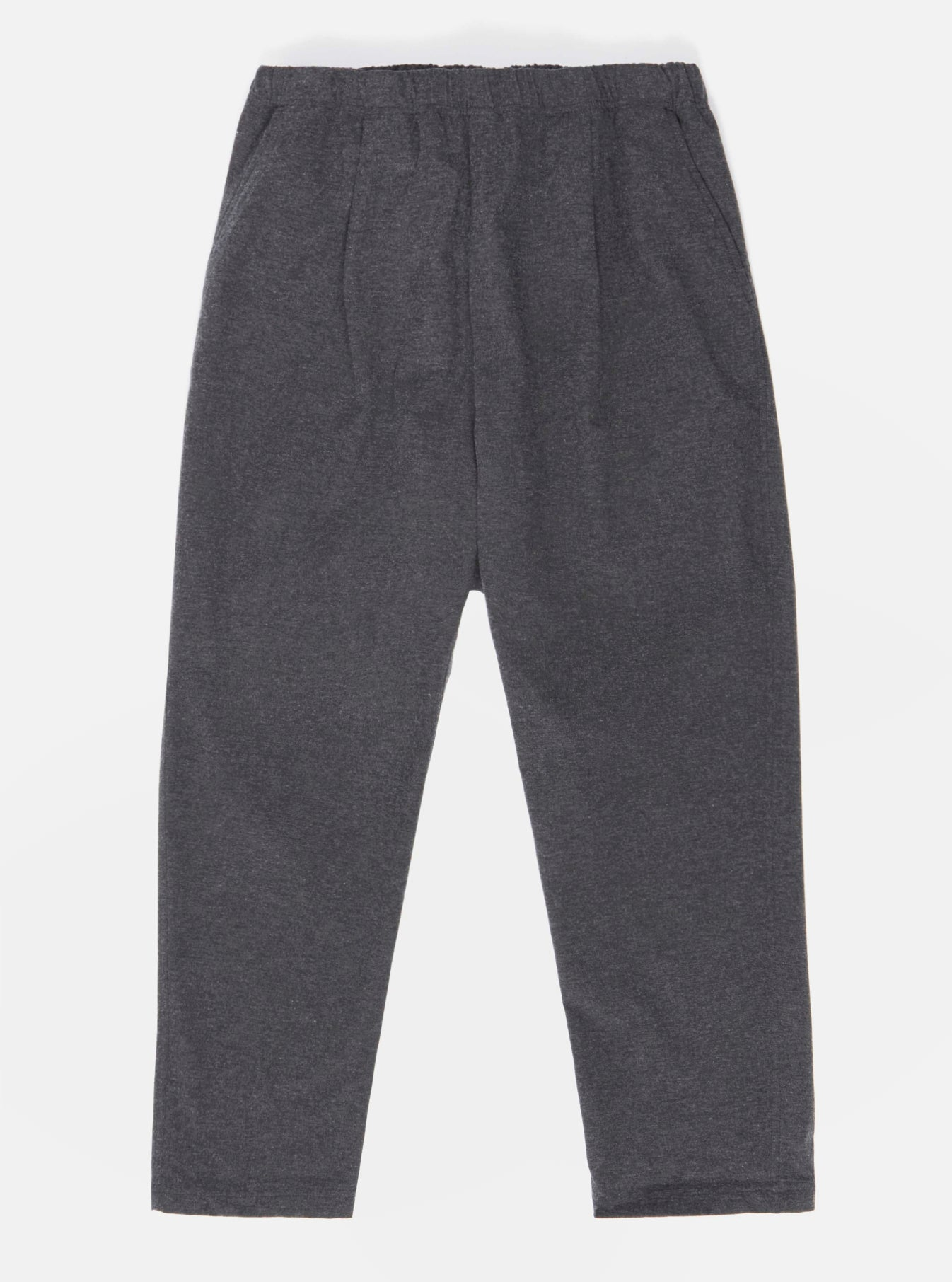 Universal Works Kyoto Work Pant in Grey Italian Cotton/Wool Mix