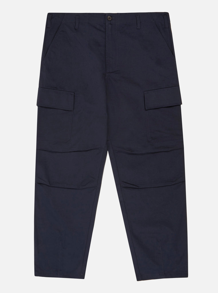 Universal Works Combat Pant in Navy Twill